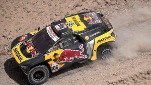 Loeb ha protagonizado su segundo triunfo de etapa en el Dakar