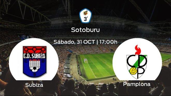 Previa del encuentro: el Subiza recibe al Pamplona en la tercera jornada