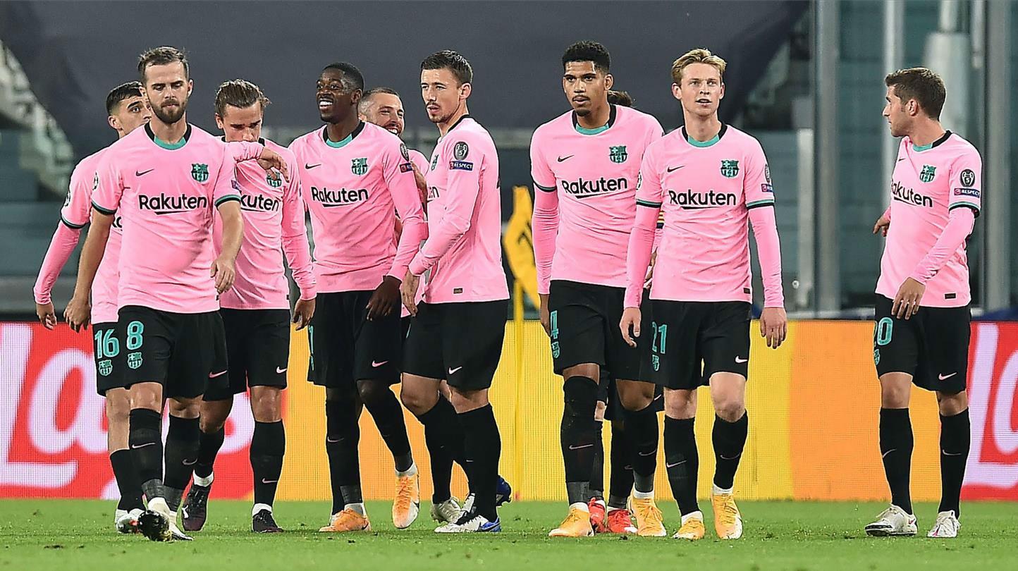 El 1x1 del Barça ante la Juventus