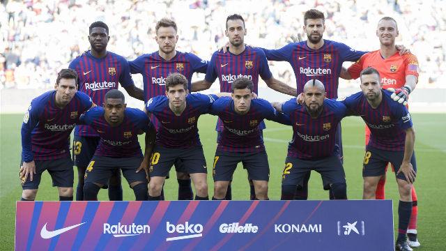 El 1x1 del Barça en el descanso ante el Getafe