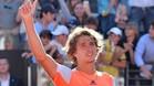 Alexander Zverev celebra su victoria en Roma