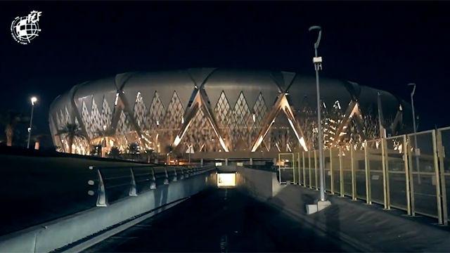 Así es el espectacular estadio King Abdullah donde se jugará la Supercopa