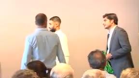 Así fue la presentación de Fekir con el Betis