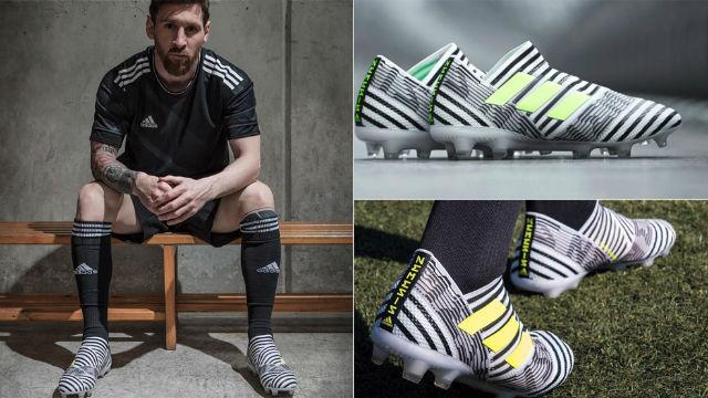 Así son las adidas Nemeziz, las nuevas botas de Leo Messi
