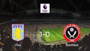 El Aston Villa consigue la victoria en casa frente al Sheffield Utd (1-0)