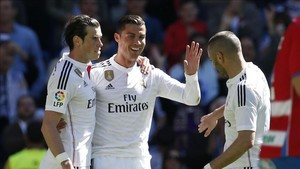 No Bale, Benzema or Ronaldo for Real Madrid at Sporting Gijon