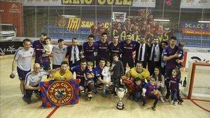 El Barça Lassa regresa al Palau tras ganar la Copa del Rey