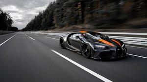 El Bugatti Chiron Sport del récord.