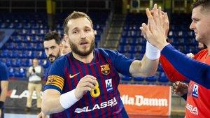 El capitán Víctor Tomàs está realizando una notable temporada