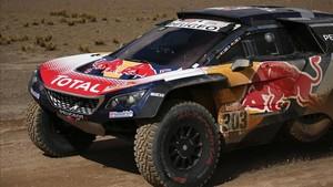 Carlos Sainz fue el mejor en la sexta etapa del Dakar
