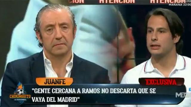 El Chiringuito: Sergio Ramos tiene dudas sobre su futuro en el Madrid