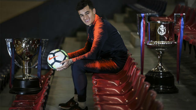 Coutinho: Espero hacer historia en el Barça como Romario, Rivaldo o Ronaldinho