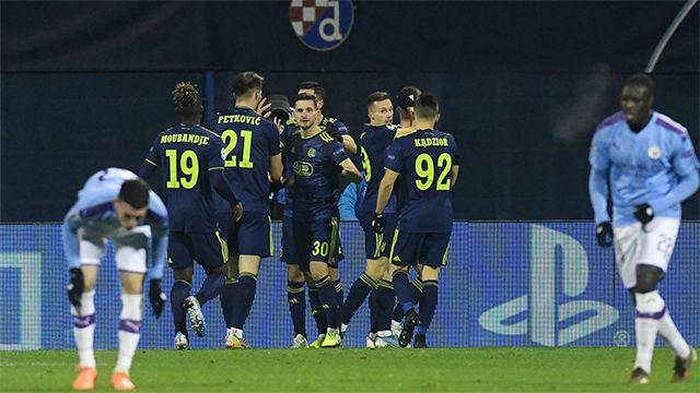 Dani Olmo marcó el mejor gol de la noche: ¡Qué escándalo de volea!