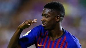Dembélé marcó el gol de la victoria