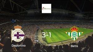 El Deportivo Femenino consigue los tres puntos ante el Real Betis Féminas (3-1)