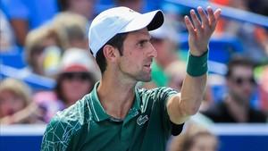 Djokovic ya está en la final de Cincinnati