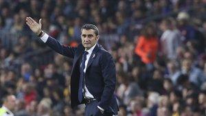 Ernesto Valverde dirigirá su primer Clásico esta temporada
