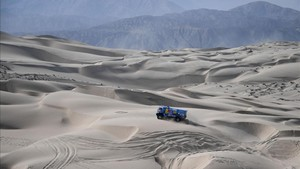 Espectacular imagen del desierto peruano, la gran estrella de la última edición