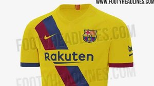 promo code e9425 736c4 New images of the Barcelona 2019-2020 second strip emerge