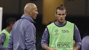 Falta diálogo entre Zidane y Bale
