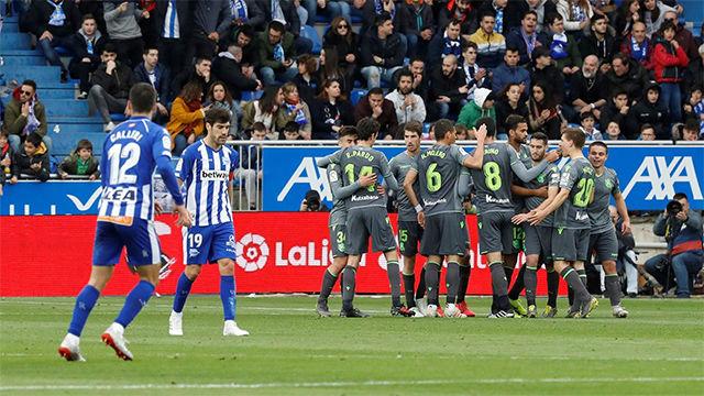 Un gol en propia acerca a la Real Sociedad a Europa