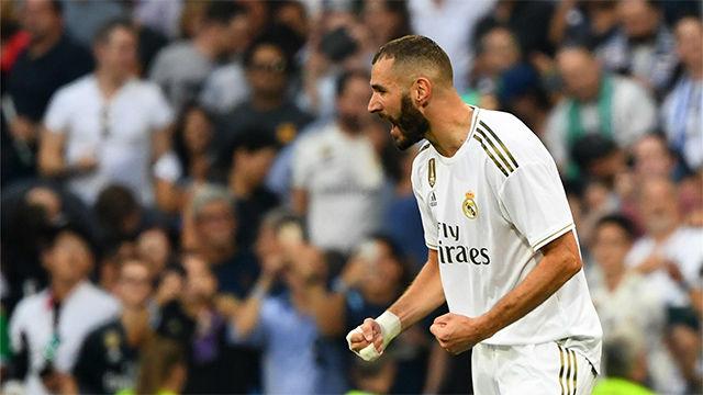 El golazo de Benzema no sirvió para dar los tres puntos al Madrid