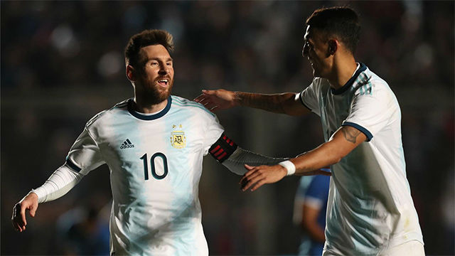 Golazo de Messi con Argentina para el 1-0 ante Nicaragua