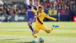 Griezmann firmó una mejorable actuación en Leganés