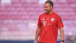 Hansi Flick, entrenador del Bayern de Múnich