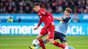 Havertz está brillando a sus 20 años en el Bayer Leverkusen