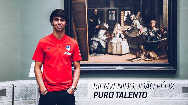 Joao Felix, nuevo fichaje del Atlético de Madrid