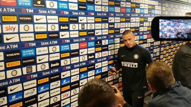 El jugador del Inter se lesionó en el derbi ante el AC Milan