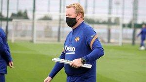 Koeman ha dado la lista de convocados del Barcelona para el partido ante el Ferencvaros
