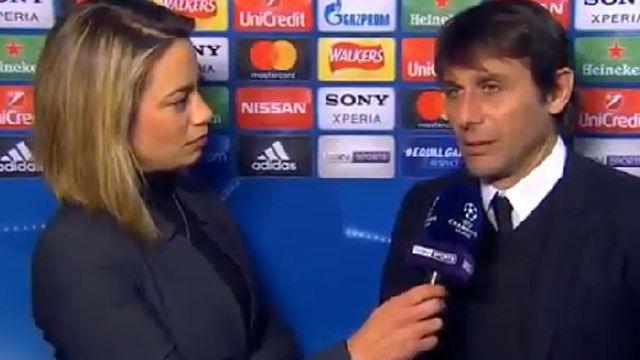 LACHAMPIONS | Chelsea - FC Barcelona (1-1): Conte: Hemos rozado el partido perfecto
