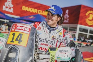 Laia Sanz, 18ª en la general final del Dakar 2020