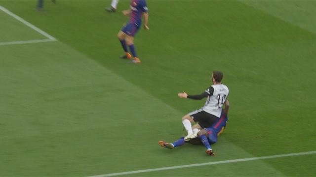 LALIGA | FC Barcelona - Valencia (2-1): El penalti de Dembélé