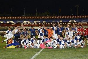 Las imágenes del Barça B - Sabadell