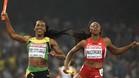 Las jamaicanas ganaron la medalla de oro en los 4x400 metros