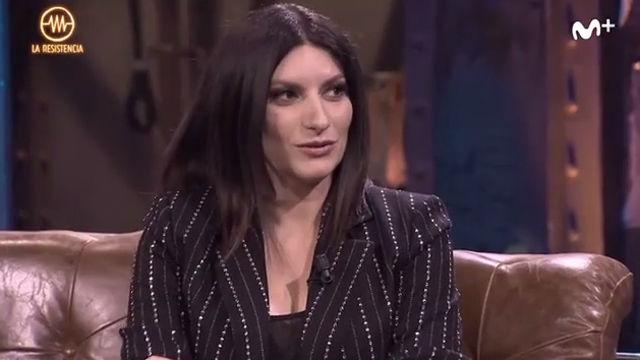 Laura Pausini confiesa ser la invitada con más dinero de La Resistencia