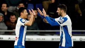 Wu Lei y Calleri acaban contrato con el Espanyol