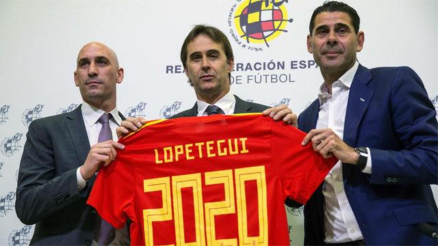 Lopetegui había renovado como seleccionador hasta 2020