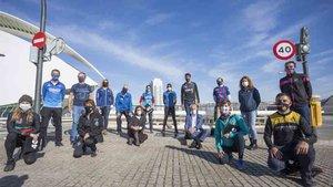 Los clubes participaron en la presentación de esta iniciativa de Maratón Valencia