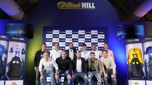 Los clubs de LaLiga SmartBank celebran su alianza con William Hill