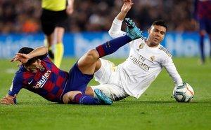 El Madrid fue muy superior al Barça durante casi todo el partido