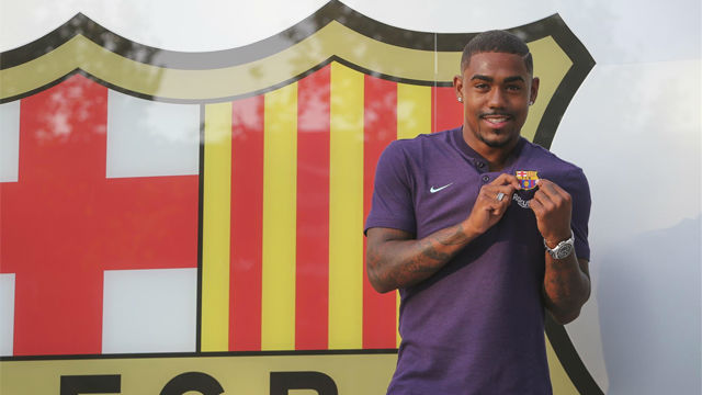 Barcelona seal €41m Malcom deal after hijacking Roma move