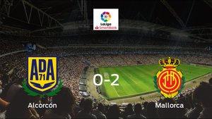 El Mallorca gana 0-2 en el feudo del Alcorcón