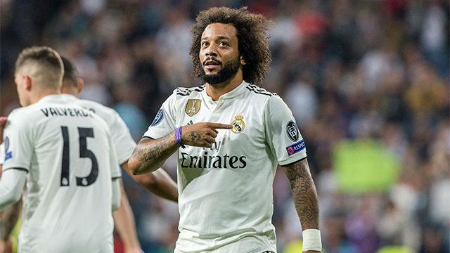 Marcelo marcó un gol vital para las aspiraciones europeas del Madrid