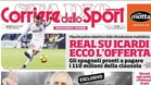 Mauro Icardi interesa al Real Madrid, según el Corriere dello Sport