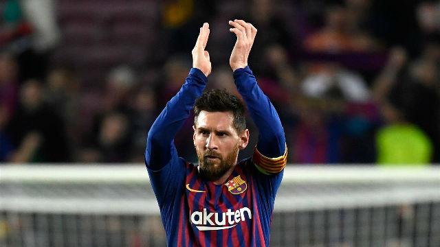 Messi, 600 goles con el Barcelona