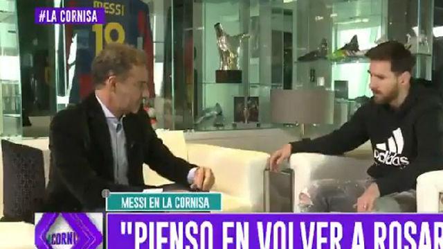 Messi habló sobre la inseguridad en Argentina